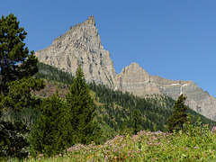 A view from Red Rock Canyon, Waterton