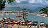Alanya : il molo del porto si fa bello per le barche che ospita