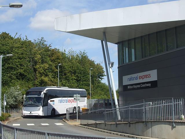 DSCF5002 Selwyns Travel BD65 JEJ (National Express contractor) at Milton Keynes - 1 Sep 2016