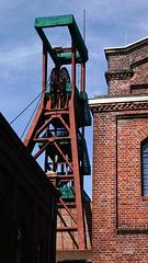 Förderturm 1/2/8 der Zeche Zollverein
