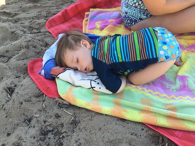Sleepy Beach Baby