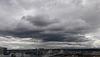 gray sky over portland