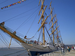 """Mir"" - Russian tall ship (1987)."