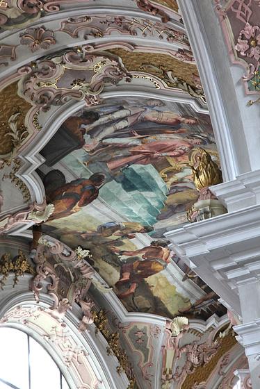 Deckengemälde Stiftskirche