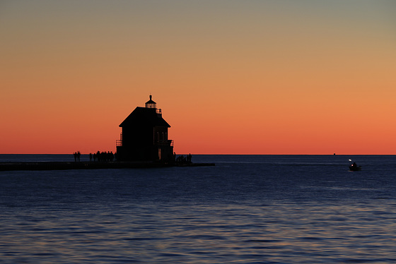 Outer Lighthouse, Grand Haven