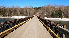 Gravel Ferry Bridge.