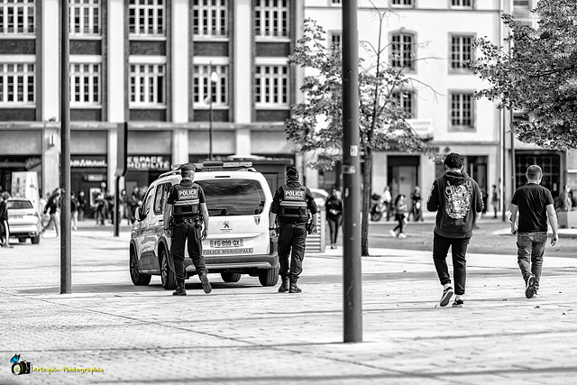 Police Municipale de Metz