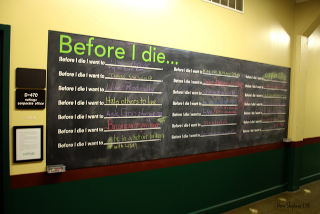 What's Left ... Before I Die