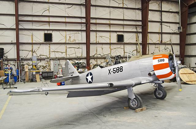 North American T-6G 49-2908