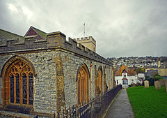 St Michael the Archangel Church & Mary Anning's Grave