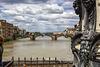 Arno river from Ponte Vecchio