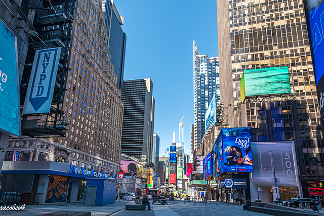 New York City During Coronavirus, From Empty Times Square