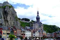 BE - Dinant - Citadel and Notre-Dame