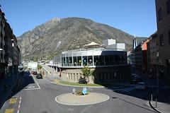 Andorra la Vella and the Pic de Carroi (2265m) in the Background