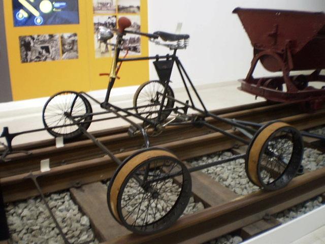 Rail quad bike Freund (1930's).