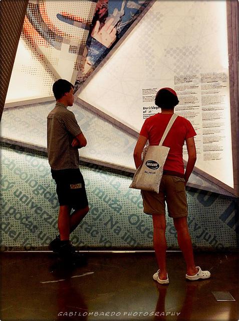 at the museum (Bolzano/Italy)