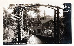 Church Farmhouse, Sibton, Suffolk c1920