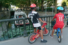 Deux cyclistes célèbres