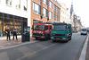 2001 Mercedes-Benz Atego 976.05 fire engine & 2005 DAF LF AE45BF dustbin lorry