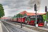Zug der HSB im Bahnhof Wernigerode