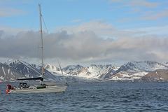 Svalbard, At the Southern Shore of Van Mijenfjorden