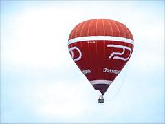 The Red PD Ballon