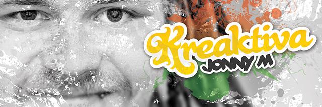 """Album' """"Kreaktiva"""" - Jonny M - por januaro 2017 ĉe Vinilkosmo"""