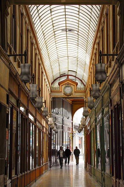 Paris, rue Saint Denis, passage