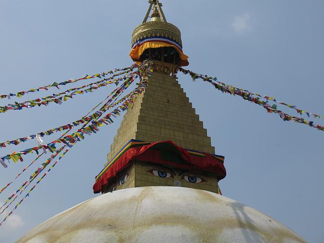 Stupa de Boudhanath (Bodnath), Kathmandu (Népal)