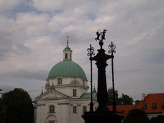 Symbol of the New City and Saint Casimir Church.