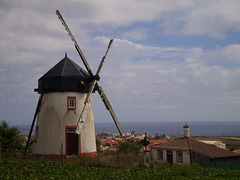 Typical windmill of Santa Maria.