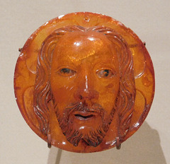Medallion with the Face of Christ in the Cloisters, October 2017
