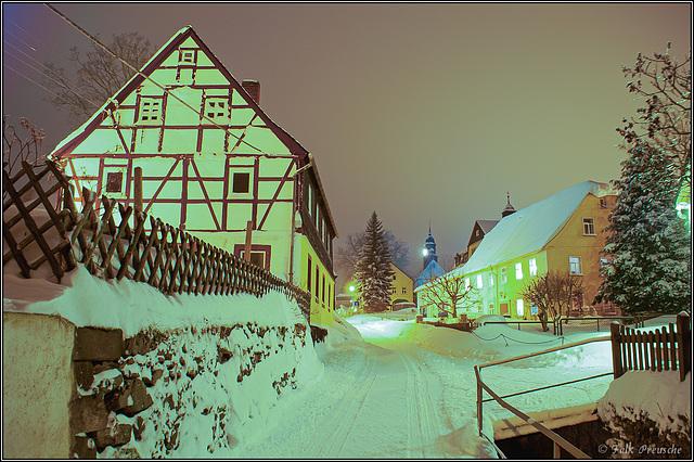 Bachgasse in Weißbach
