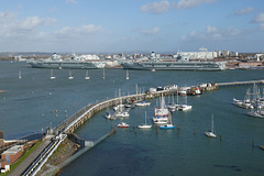 HFF from Portsmouth Harbour