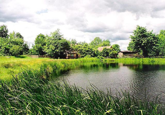 Am Teich in Pommern