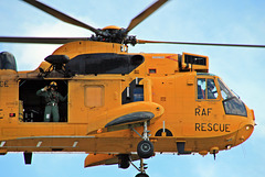 Royal Air Force Westland Sea King HAR3 search and rescue helicopter
