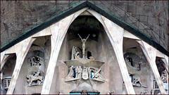 Barcellona : La Sagrada Familia, ingresso principale
