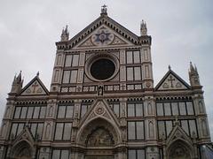 Façade of Holy Cross Basilica.