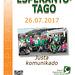 Afiŝo por Esperanto-Tago 2017