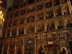 P7120564ac Uglich Orthodox Cathedral of our Savior  Transfiguration 1713 Iconostasis