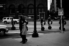 Out for a Walk -  City of Chicago