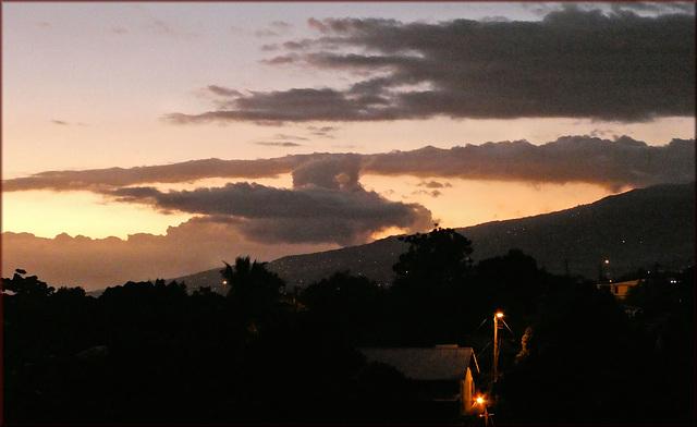 La Ravine-des-Cabris (974) Ile de la Réunion. 17 avril 2020.
