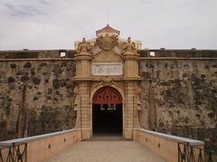 Gate of inner wall.