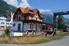 Historischer Bahnhof Frutigen
