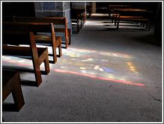 Dans l'église de Plouer sur Rance (22)