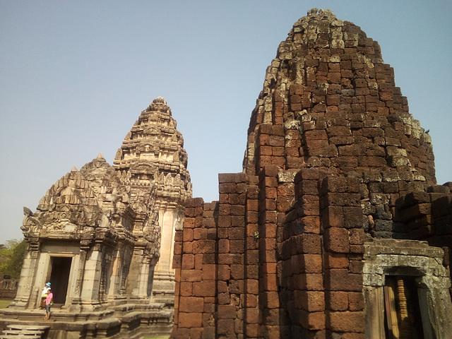 Ruines historiques de l'Isan