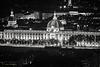 Hôtel-Dieu de Lyon par la nuit