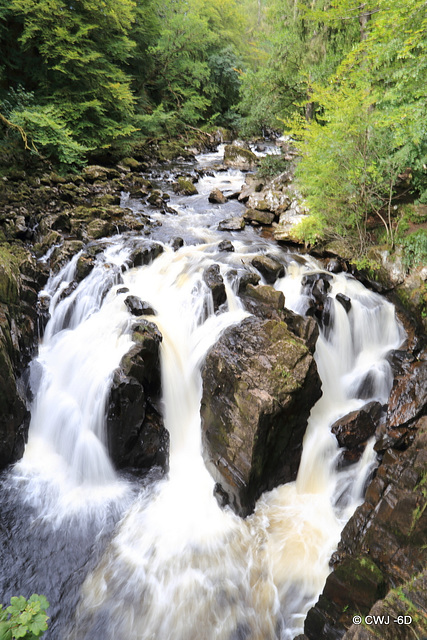 Ossian's Falls, The Hermitage, nr. Dunkeld, Perthshire
