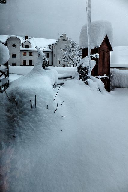 Neuschnee vom 30.12. zum 31.12.2014  ©UdoSm