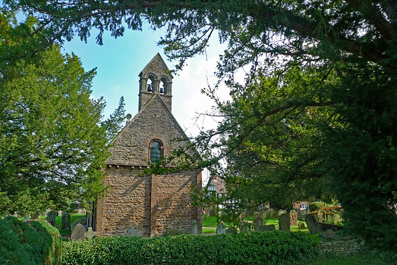 England - Kilpeck, Church of St Mary and St David